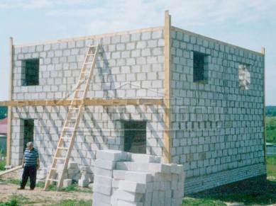 Преимущества домов из газоблоков и цены на этот строительный материал.