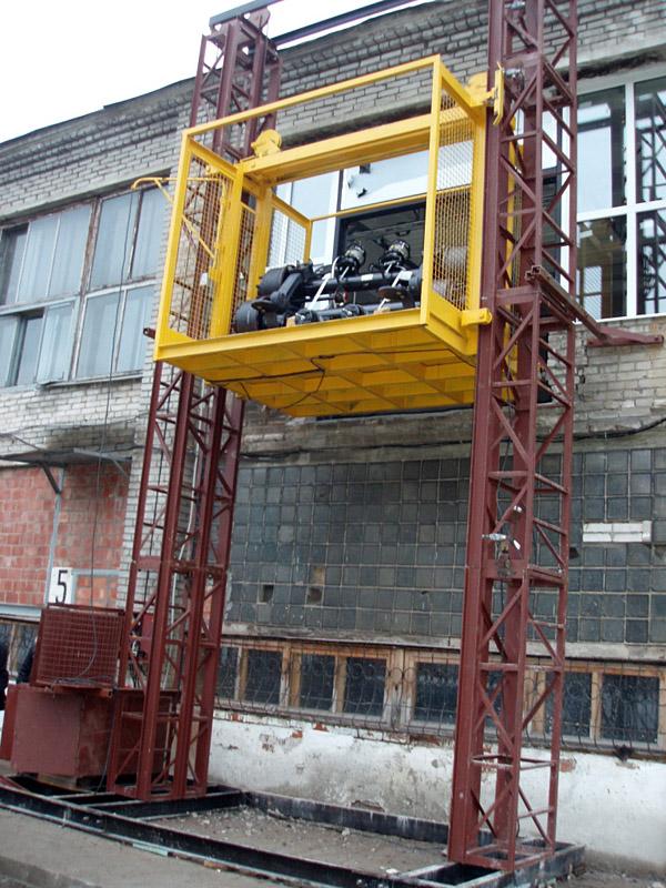 Применение строительных подъемников