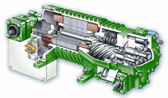 Применение винтовых компрессоров