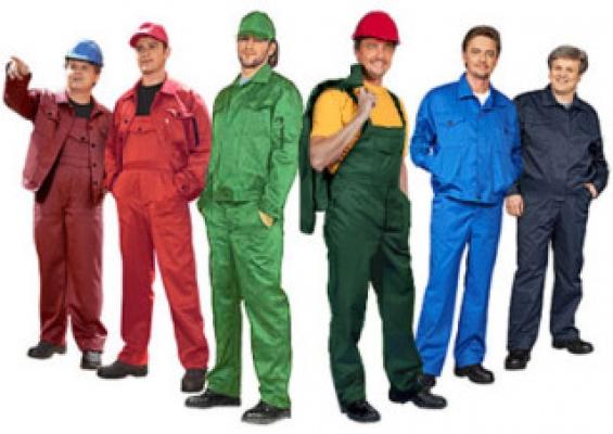 Производство рабочей одежды и покупатель на рынке