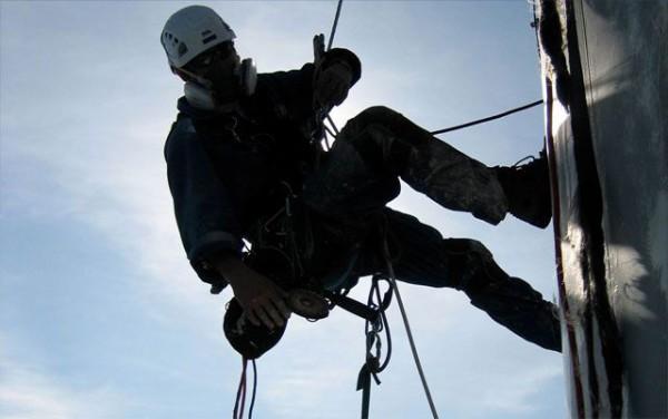 Промышленный альпинизм - технология выполнения высотных работ