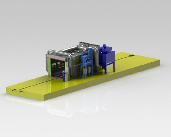 Промышленная работа с металлическими изделиями – дробеструйные камеры