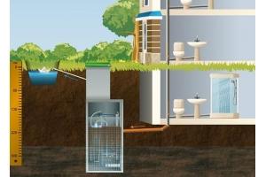 Работа канализационной системы