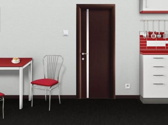 Редкое сочетание дверей и напольного покрытия