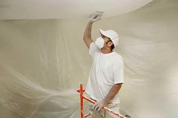 Ремонт потолока своими руками