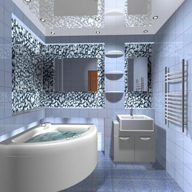 Ремонт в малогабаритных ванных комнатах