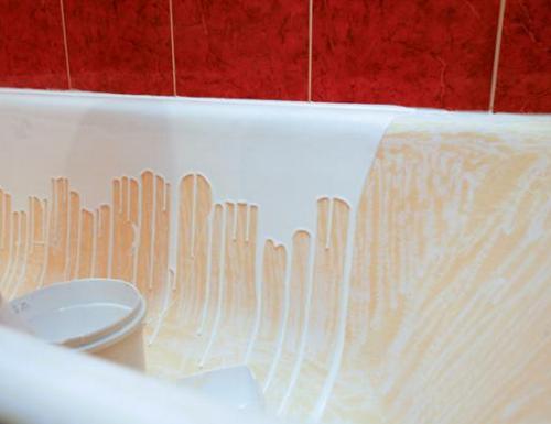 Реставрация акриловой ванны своими руками.