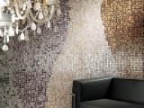 Стеклянная мозаика в интерьере