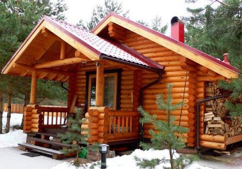 Русская баня: строим из дерева