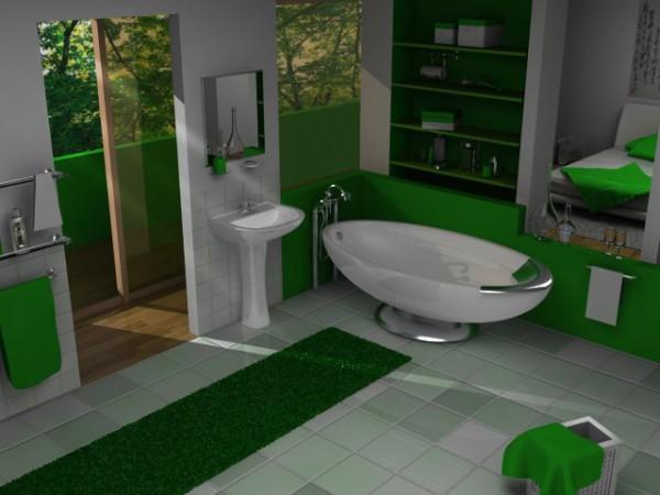 Сантехнические перегородки. Творческий подход к оформлению туалетной комнаты