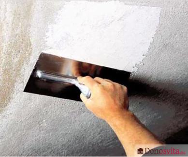 Штукатурка для облицовки стен