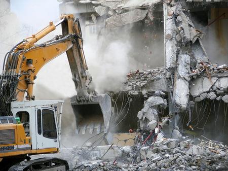 Снос зданий - настоящее искусство