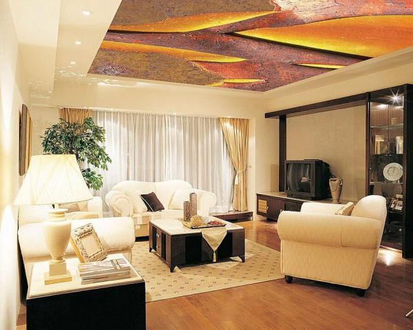 Современные натяжные потолки – яркий акцент вашего интерьера