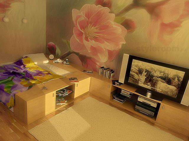 Создание интерьера маленькой спальни