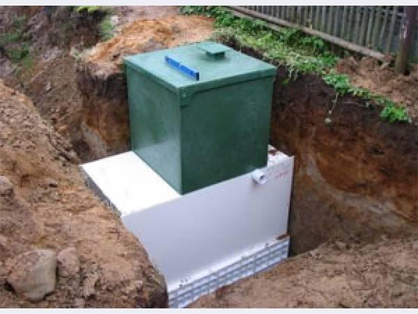 Создание системы автономной канализации
