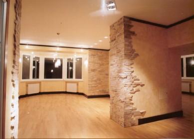 Варианты оформления стен