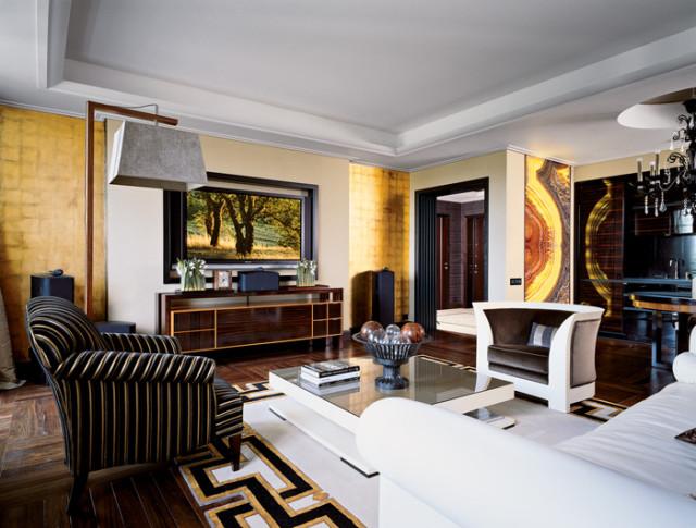 Интерьер комнаты в стиле Ар Деко