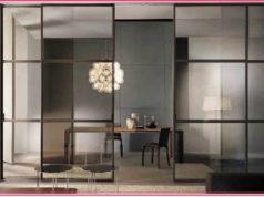 Межкомнатные двери: стеклянные раздвижные двери